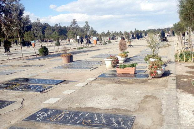 درآمد ناشی از فروش قبر صرف پروژه های عمرانی باغ رضوان می گردد