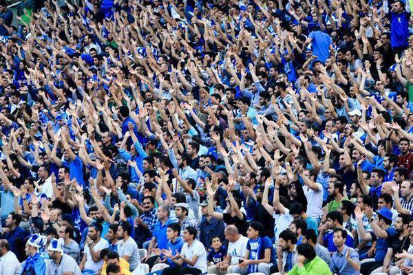 حضور 50 هزار تماشاگر در استادیوم آزادی، ظرفیت طبقه اول تکمیل شد