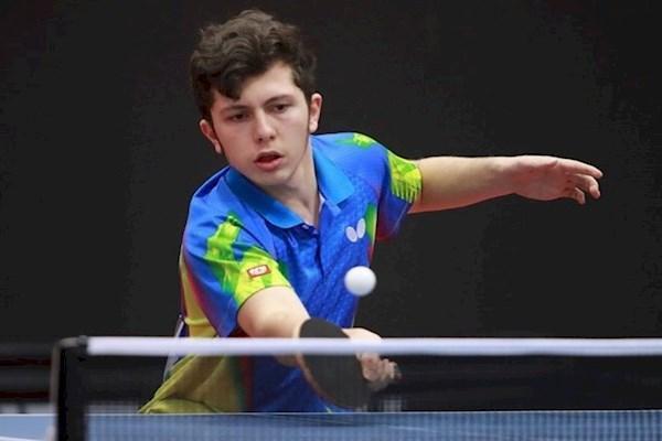 قهرمانی امین احمدیان در تور تنیس روی میز ایران