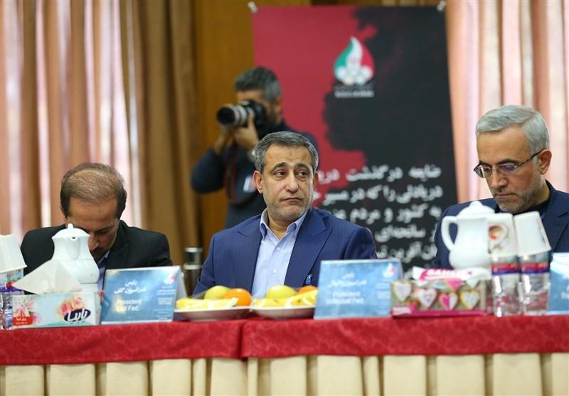 سعیدی: عزم کمیته ملی المپیک بر پرداخت صددرصدی بودجه فدراسیون ها است، 500 تا 550 هزار دلار پاداش روی سکو به ورزشکاران پرداخت کردیم