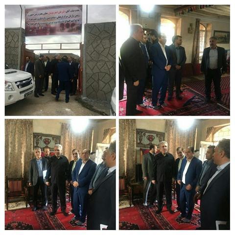 مونسان یک اقامتگاه بوم گردی را در روستای چشمه بید ایلام افتتاح کرد