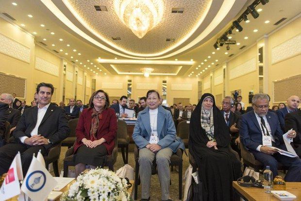 قرائت پیغام شهردار تهران در پنجمین اجلاس مجمع شهرداران آسیایی
