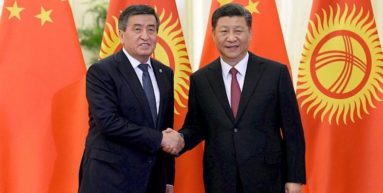 همکاری های دوجانبه محور رایزنی رؤسای جمهور قرقیزستان و چین