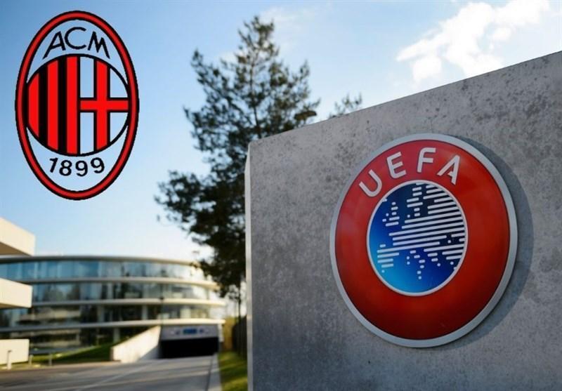 مذاکره میلان با یوفا برای تبعید داوطلبانه از لیگ اروپا