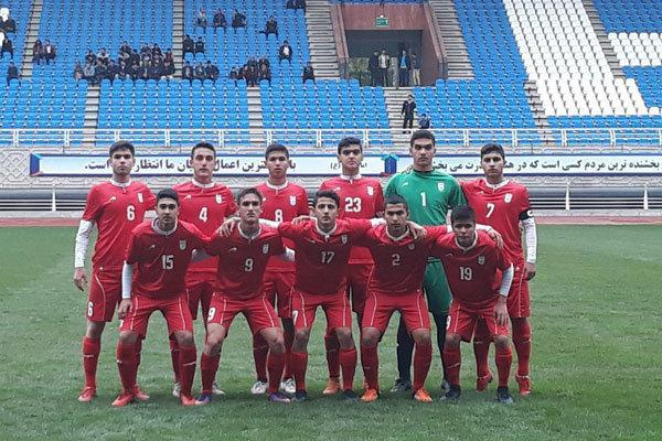 پیروزی پرگل تیم فوتبال نوجوانان ایران مقابل ویتنام در نیمه اول