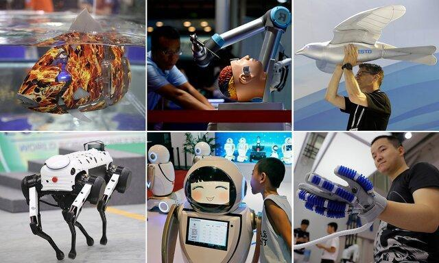 حضور ربات های پرنده، شناگر و جراح در چین