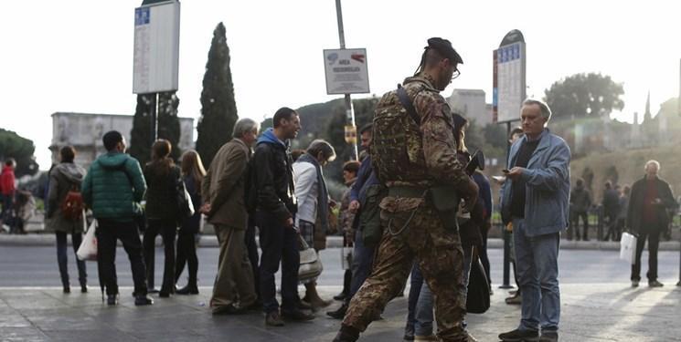 حمله با چاقو به سرباز ایتالیایی در میلان
