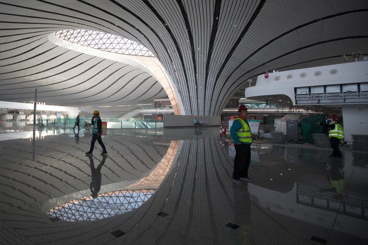 افتتاح فرودگاه جدید پکن (