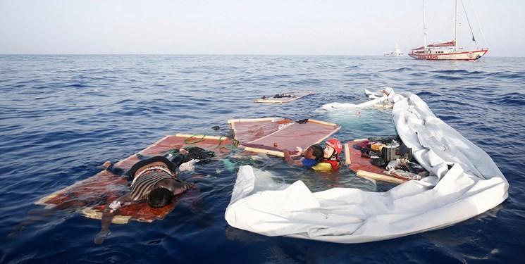 واژگون شدن قایق مهاجران در سواحل ایتالیا 13 زن را به کام مرگ کشاند