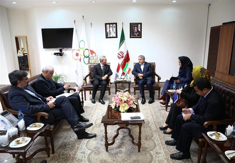 نشست مشترک مسئولان کمیته ملی المپیک با سفیر اندونزی برگزار گردید