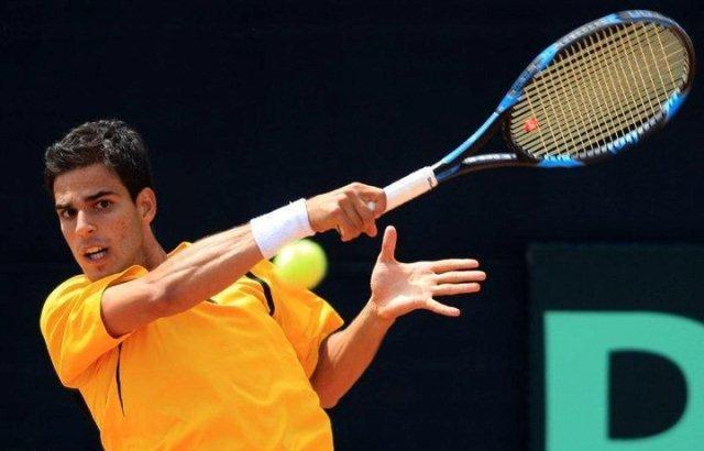 جدال ایران و ویتنام برای ماندن در گروه دو تنیس آسیا، خالدان اولین پیروزی را برای ایران رقم زد