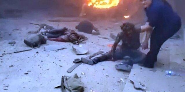 دیده بان حقوق بشر سوریه: حمله هوایی ترکیه، جان 9 تن را در رأس العین گرفت