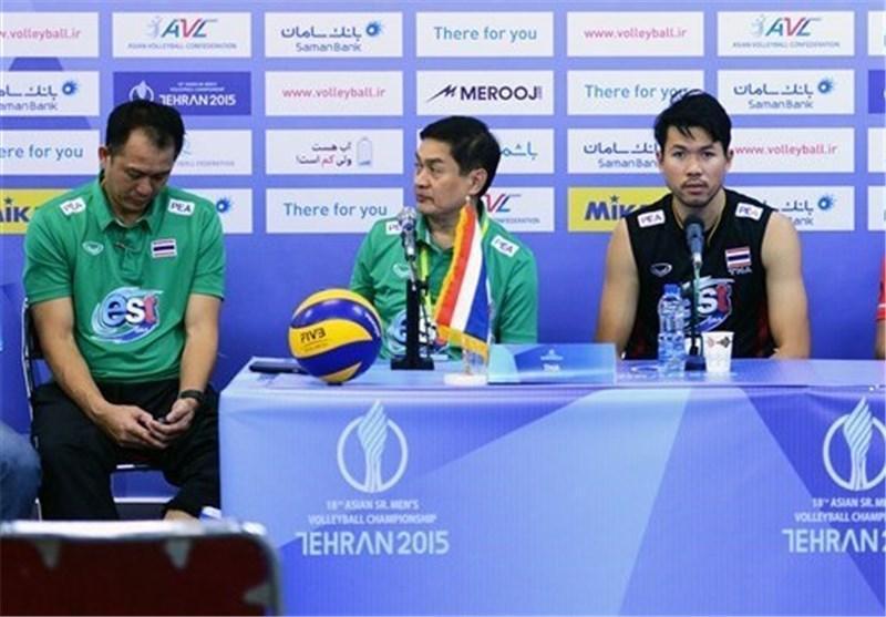 سرمربی تیم ملی والیبال تایلند: بازیکنان ایران بسیار قدرتمند هستند
