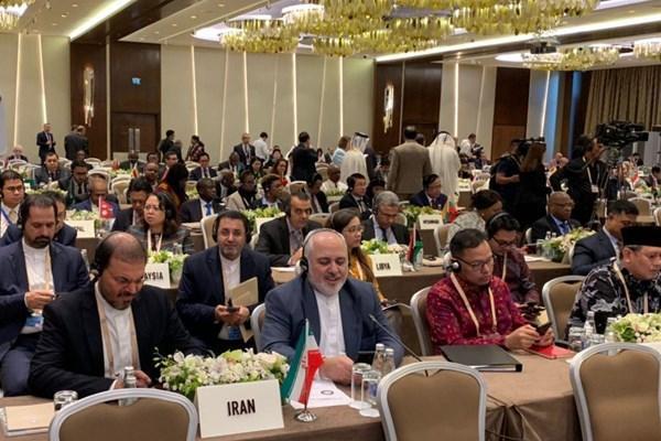 نشست وزرای عدم تعهد در باکو با حضور ظریف شروع به کار کرد