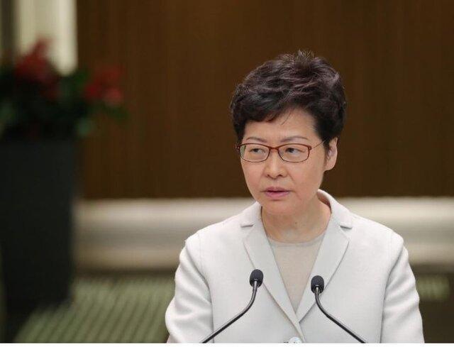 رئیس اجرایی هنگ کنگ به نارضایتی مردم از دولت اقرار کرد