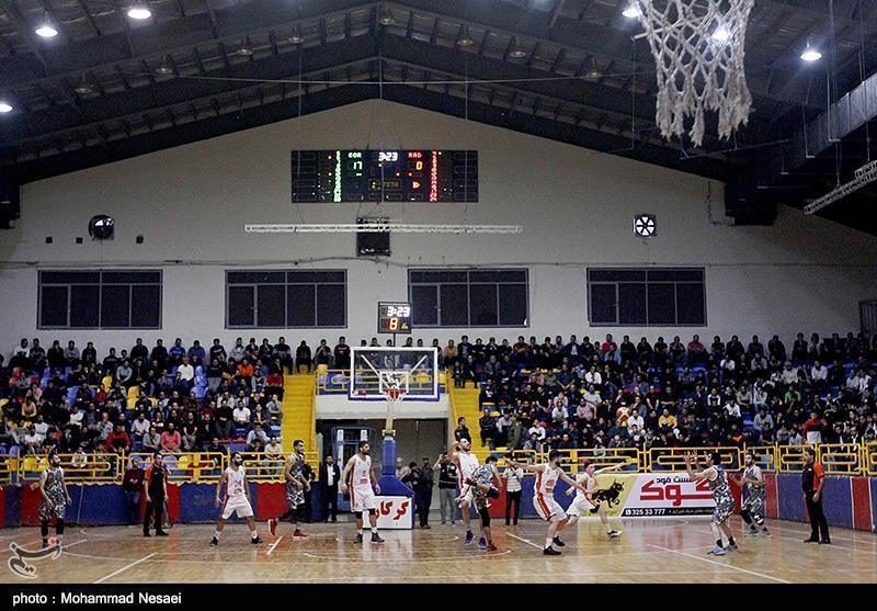 لیگ برتر بسکتبال، آویژه صنعت مشهد مقابل تیم قزوین به رجحان رسید