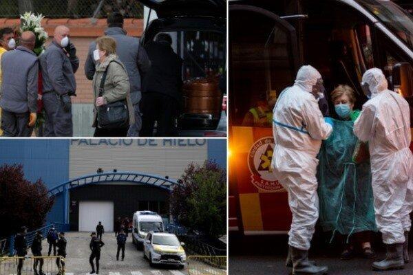 مرگ 442 نفر در یک روز بر اثر کرونا در اسپانیا