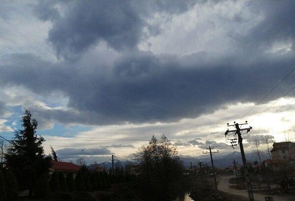 پیش بینی ابرناکی، رگبار باران و افزایش باد در هرمزگان
