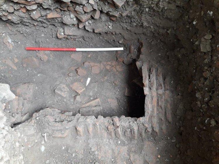 کشف گورستانی عظیم در مجموعه مسجد صفی رشت