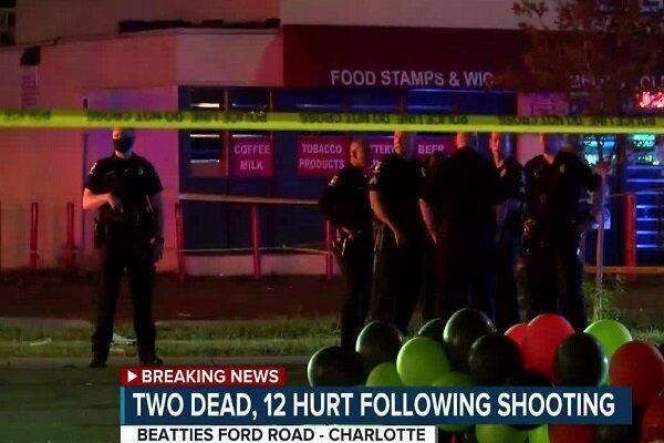 تیراندازی و حمله با خودرو در کارولینا 2 کشته و 12 زخمی برجا گذاشت