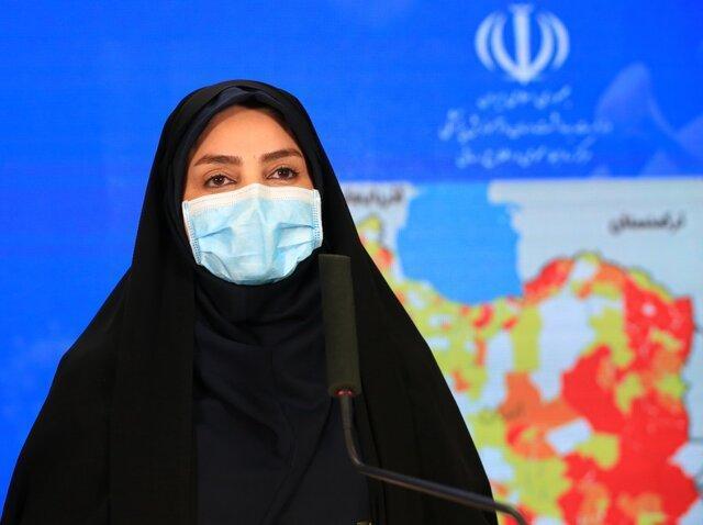 آخرین آمار کرونا در ایران، فوت 133 بیمار مبتلا به کرونا در شبانه روز گذشته