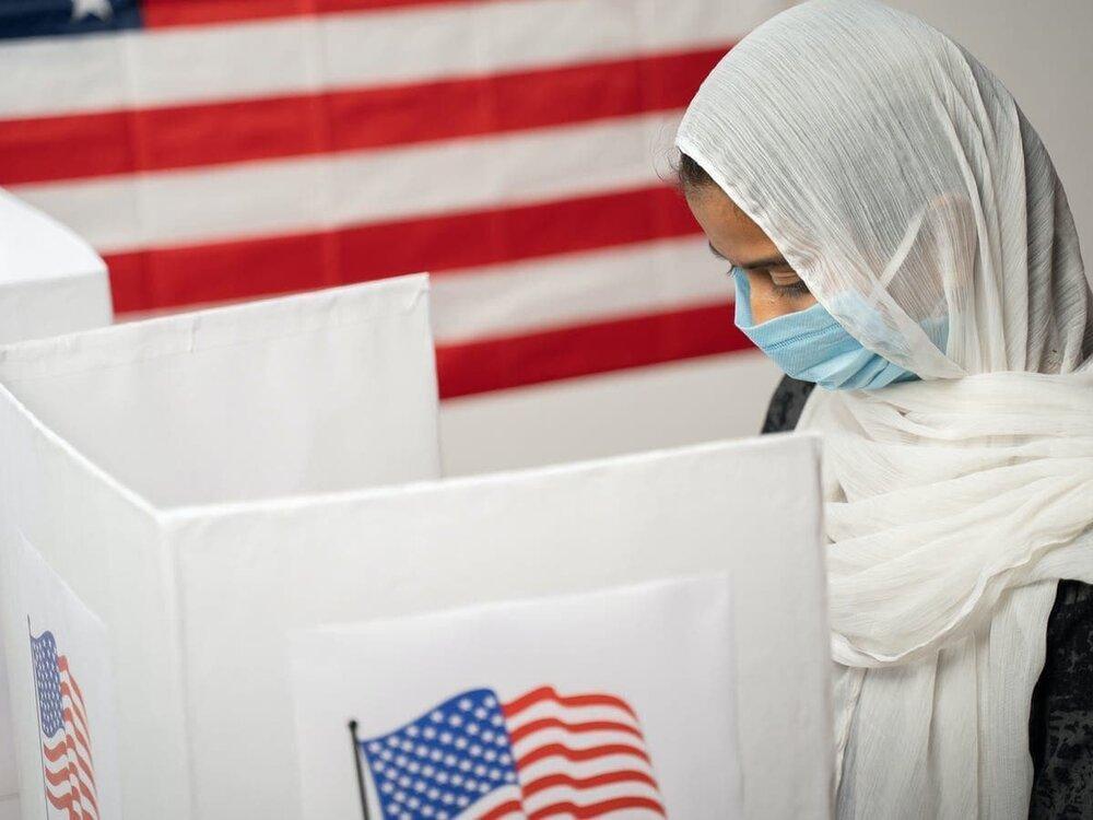 69 درصد مسلمانان به بایدن رای داده اند