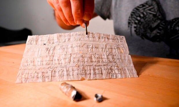 کشف نامه 100 ساله حاوی پیامی از جنگ جهانی اول