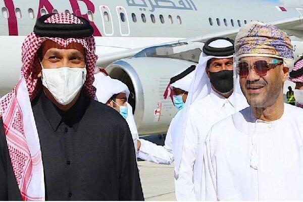 سفر وزیر خارجه قطر به عمان
