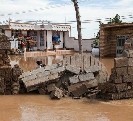 تخریب 9 منزل مسکونی در اثر بارندگی در خوزستان