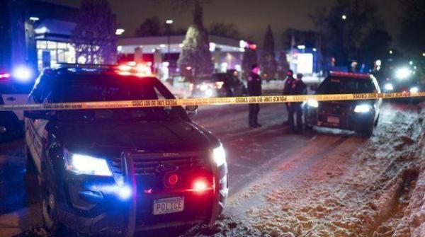 خبرنگاران قتل شهروند آمریکایی بدست پلیس در نزدیکی قتلگاه جورج فلوید