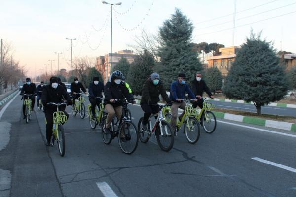محله های ناحیه سه منطقه21 با دوچرخه پایش شد