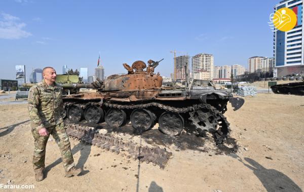 (تصاویر) افتتاح موزه جنگ قره باغ توسط علی اف