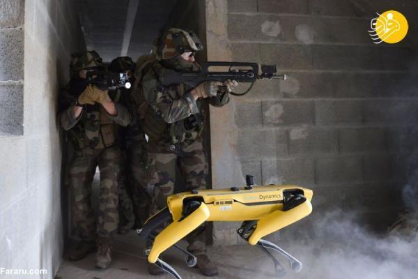 (ویدئو) ربات های جنگی در ارتش فرانسه