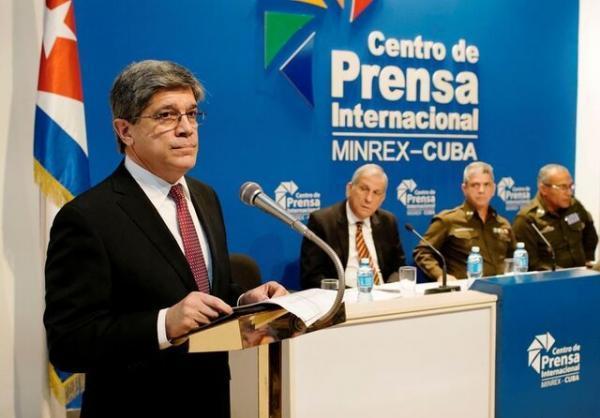 احضار کاردار آمریکا به وزارت خارجه کوبا