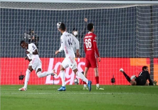 لیگ قهرمانان اروپا، گام بلند رئال مادرید برای صعود با مجازات لیورپول، پیروزی دقیقه نودی منچسترسیتی برابر دورتموند