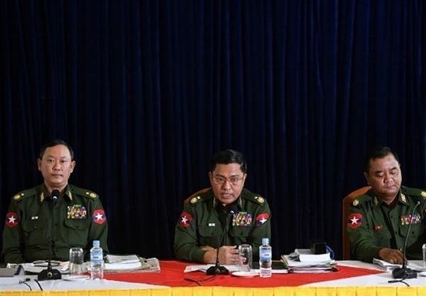 فرمانده ارتش میانمار به دنبال شرکت در نشست آسه آن