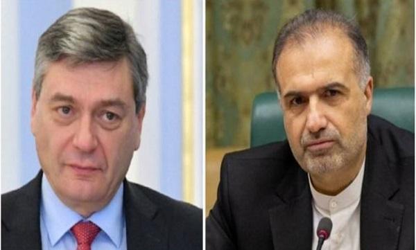 رایزنی دیپلمات های ایران و روسیه در مورد آخرین تحولات در قره باغ