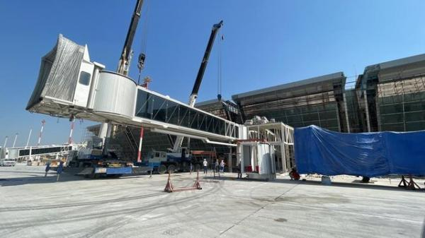 طراحی، ساخت و نصب تجهیزات فرودگاه جدید کیش توسط یک شرکت دانش بنیان داخلی